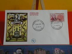 Coté 4€ > Coulomb, Balance De Torsion > 20.5.1961 > Angoulême (16)> FDC 1er Jour - 1960-1969