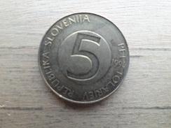 Slovenie  5  Tolarjev  1994  Km 6 - Slovénie