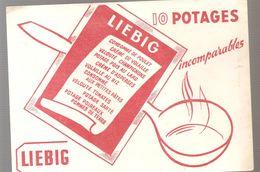 Buvard LIEBIG 10 Potages Imcomparables - Sopas & Salsas