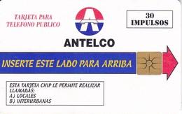 TARJETA DE PARAGUAY DE 30 IMPULSOS DE ANTELCO - Paraguay