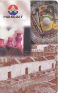 TARJETA DE PARAGUAY DE 30 IMPULSOS DE ANTELCO DE CUADRO MISCELANEA PARAGUAYA - Paraguay