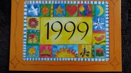 CPM MONICA MONTOLIU HEUREUSE ANNEE HAPPY NEW YEAR 1999  ED CARTES D ART - Illustratoren & Fotografen