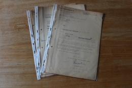 3  Documents  WWII Avec  Insigne Des Forces Speciales Allemandes - Documenti