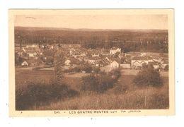 CPA 46 LES QUATRE ROUTES Vue Générale 1948 - Other Municipalities