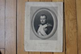 Napoleon I   Empereur Portant Légion D'honneur Medaille De La Couronne - Documents Historiques