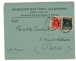 POLOGNE  - LETTRE De Bitkuw Le 05/05/1925 - 1919-1939 Republic