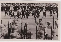 ALLEMAGNE 1937 BERLIN  CARTE POSTALE DE PROPAGANDE  HITLER-MUSSOLINI - Deutschland