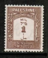 PALESTINE   Scott # J 12* VF MINT LH - Palestine