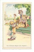 18211 - Pas D'homme élégant Sans Chapeau Clochard Sur Un Banc - Holzer, Adi