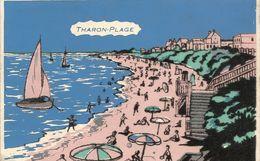 44   THARON  PLAGE    CARTE  VELOUR - Tharon-Plage