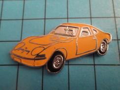 Pin513e Pin's Pins / Rare Et De Belle Qualité !!! AUTOMOBILES / Grand Pin's OPEL PETITE SPORTIVE JAUNE Par FTP - Opel