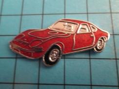 Pin513e Pin's Pins / Rare Et De Belle Qualité !!! AUTOMOBILES / Grand Pin's OPEL PETITE SPORTIVE ROUGE Par FTP - Opel