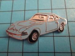Pin513f Pin's Pins / Rare Et De Belle Qualité !!! AUTOMOBILES / Grand Pin's OPEL PETITE SPORTIVE BLEUE Par FTP - Opel
