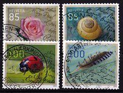 SCHWEIZ Mi. Nr. 2410-2413 O (A-5-19) - Schweiz
