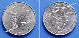 UNITED STATES USA 25 Cents (QUARTER) 2009 P - GUAM - 1999-2009: State Quarters