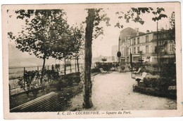 CPA Courbevoie, Square Du Port (pk35954) - Courbevoie