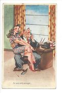 18217 - Je Suis Très Occupé Couple Au Bureau - Humour