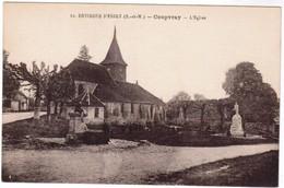 CPA Coupvray, L'Eglise, Environs D'esbly (pk35955) - France