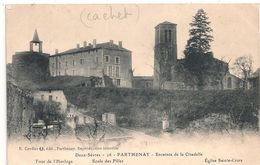 Cpa 79 Parthenay Ecole De Filles ( Cachet Convalescence ) - Parthenay