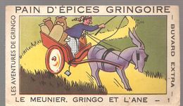 Buvard GRINGOIRE Pain D'Epices GRINGOIRE LE MEUNIER, GRINGO Et L'ANE Buvard N°1 - Gingerbread