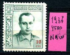 SPAGNA - Year 1937 - TELEGRAFO - Nuovo - New - Fraiche -frisch.- MH. - 1931-Oggi: 2. Rep. - ... Juan Carlos I