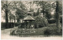 CPA Courbevoie, Le Square De La Mairie (pk35958) - Courbevoie