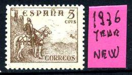 SPAGNA - Year 1936 - Nuovo - New - Fraiche -frisch.- MNH**. - 1931-Oggi: 2. Rep. - ... Juan Carlos I