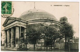CPA Courbevoie, L'Eglise (pk35959) - Courbevoie