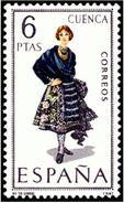 ESPAÑA 1968 - TRAJES TIPICOS REGIONALES - CUENCA - EDIFIL Nº 1842 - YVERT 1501** - 1931-Aujourd'hui: II. République - ....Juan Carlos I