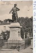 Militaria : Boufarik Algerie  ( Statue Du Sergent Blandin ) - Monumenti Ai Caduti