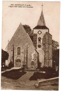 CPA Courpalay, L'Eglise Et Le Monument (pk35960) - Francia