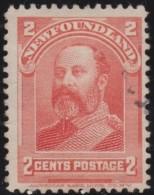 Newfoundlans    .    SG   .    86      .       O      .     Gebruikt   .    /      .        Cancelled - 1865-1902