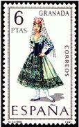 ESPAÑA 1968 - TRAJES TIPICOS REGIONALES - GRANADA - EDIFIL Nº 1846 - YVERT 1525** - 1931-Aujourd'hui: II. République - ....Juan Carlos I