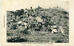 Colonne De TAZA - Section De Mitrailleuses En Campagne - Autres