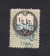 1 Austria Revenue 1/2 Kr. 1870 Ultramarinblau - Steuermarken