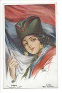 18224 - Serbia Freedom For Ever Par ARTHUR BUTCHER Belle Femme - Illustrateurs & Photographes