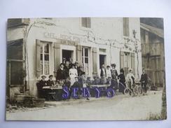 Epinal. Café De La Roche Pointue. Jean Traub.  Carte Photo. - Epinal