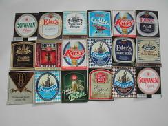 140 Beerlabels Eder's Familien Brauerei / Grossostheim - Bière