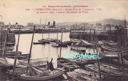 50 - Cherbourg - Avant Port De Commerce - L'Epi Au Dernier Plan, à Droite, Montagne Du Roule. - (voir Scan). - Cherbourg