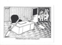 18226 - Pécub Félicitations Pour Votre Nouveau Job - Illustrateurs & Photographes