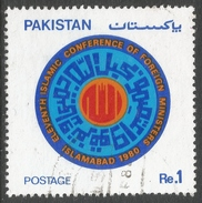 Pakistan. 1980 11th Islamic Conference Of Foreign Ministers, Islamabad. 1r Used. SG 531 - Pakistan