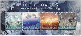 Australian Antarctic 2016 Ice Flowers Minisheet MNH - Australisches Antarktis-Territorium (AAT)