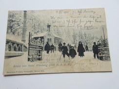 CPA Animée - Gruss Von Hotel ALTENBERG - 1901 ! - Sin Clasificación