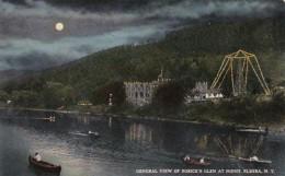 New York Elmira General View Of Rorick's Glen At Night 1910