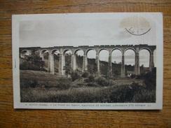 """Rives , Le Pont Du Boeuf """""""" Carte Animée """""""" Train Sur Le Pont """""""" - France"""