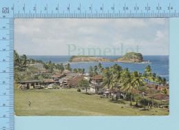 Martinique -Sainte-Marie La Plage Et L'ilet - Cover Fort De France 1966 + Stamp, Send To USA - La Trinite