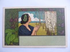 Rich  Lauda.   Femme.  Art Déco. - Other Illustrators