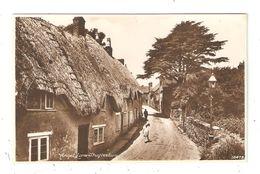 CPA Royaume Uni Dorset SHAFTESBURY Angel Lane Shaftesbury - Angleterre
