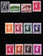 NEDERLAND 1944 Bevrijding Serie  428-442 Used 12 Values Only - Period 1891-1948 (Wilhelmina)