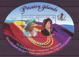 PN - 2000 The 100th Anniversary Of The Birth Of Queen Elizabeth The Queen Mother, 1900-2002 S/s - MNH - Sellos
